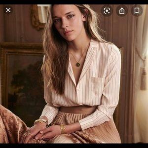 Sezane Florence Stripe blouse 34